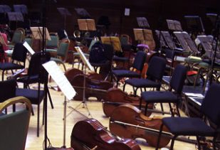 Orchestra chairs